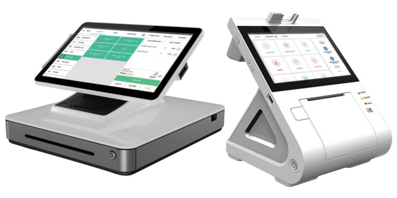 Integrated POS devices offer all-in-one payment processing for ease and speed